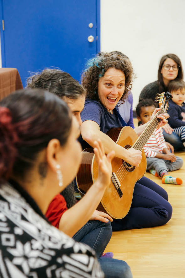 Music Together epic playdate with 510families