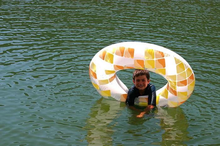 shasta lake swimming
