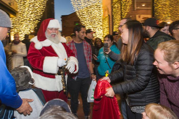 Ghirardelli Square Santa Claus