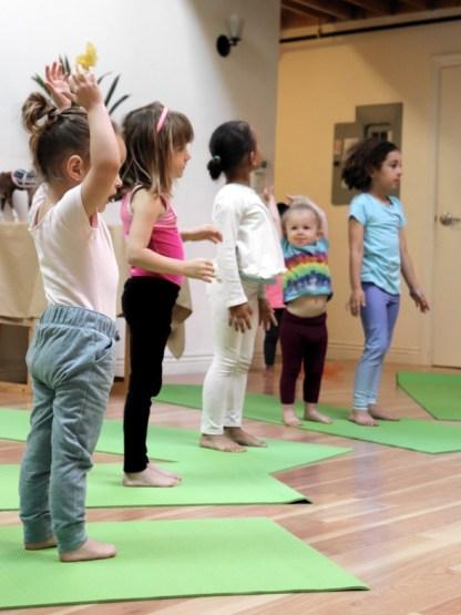 Preschool Yoga at Yama Kids