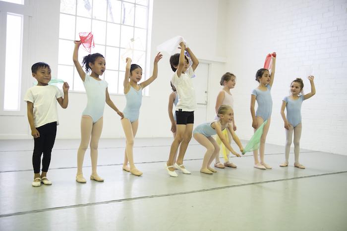 Berkeley Ballet Theater kids class