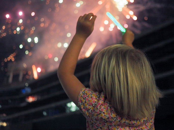 See fireworks at the A's game