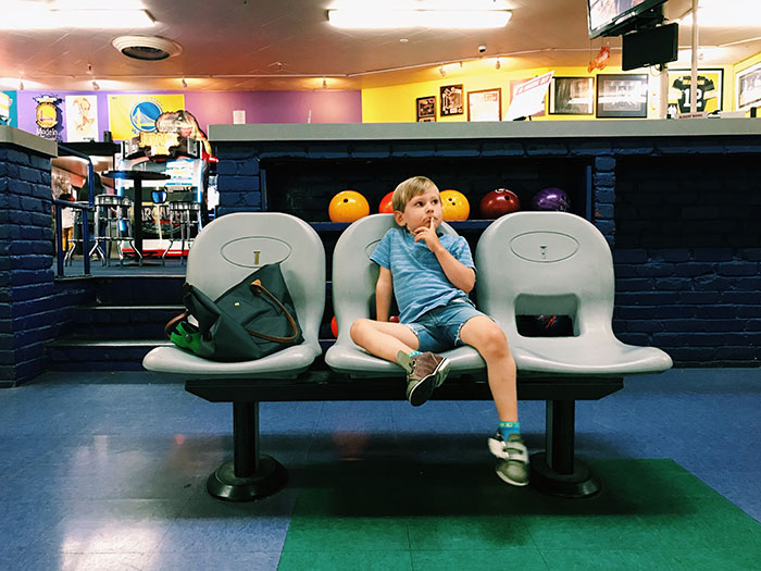 Bowling with Kids and other weekend ideas