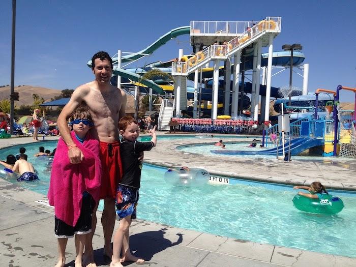 Aqua Adventure Water Park with families