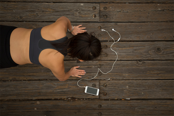 Workout at home with Gixo app