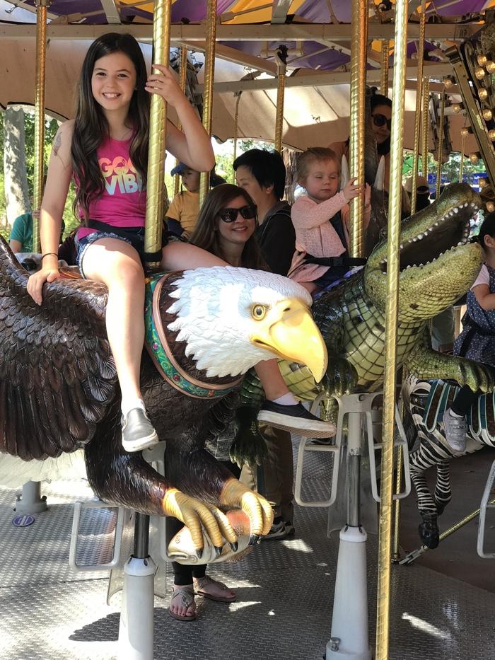 happy hollow carousel