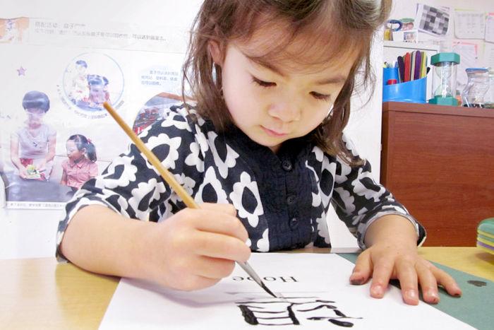 Shu Ren International School young student