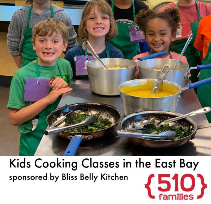 Kids cooking class
