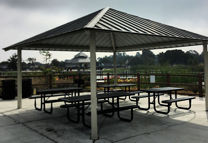 San Lorenzo Community Park picnic areas can be reserved through the City of Hayward