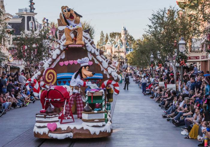 Christmas Fantasy Parade Disneyland