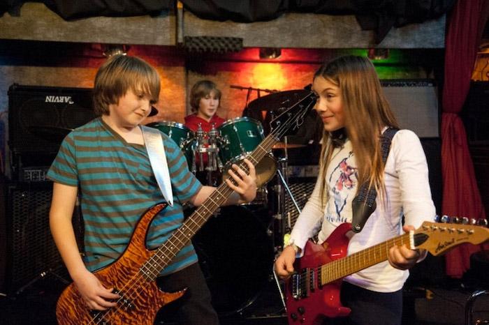 BandWorks Oakland kid band