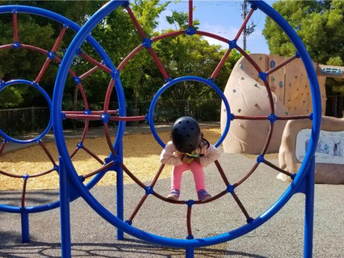 Castro Park in El Cerrito climbing web
