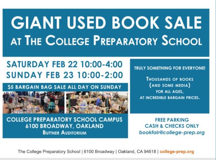 college prep book sale