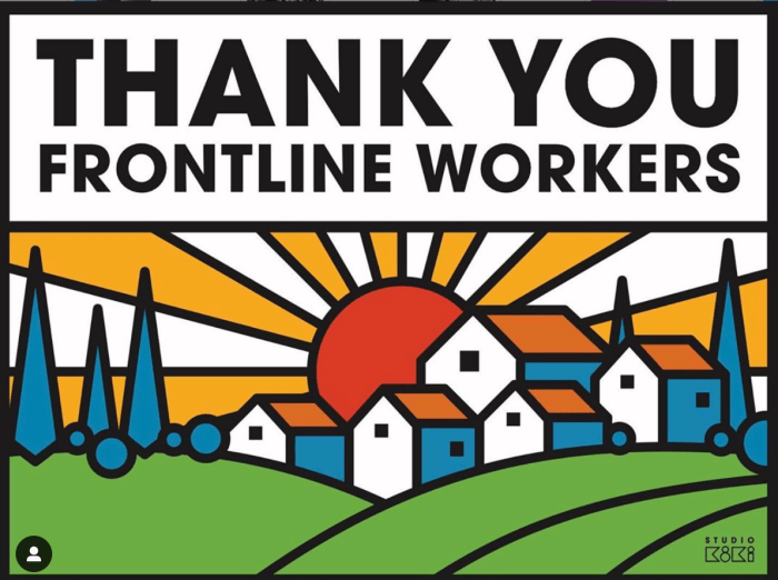 thank you workers