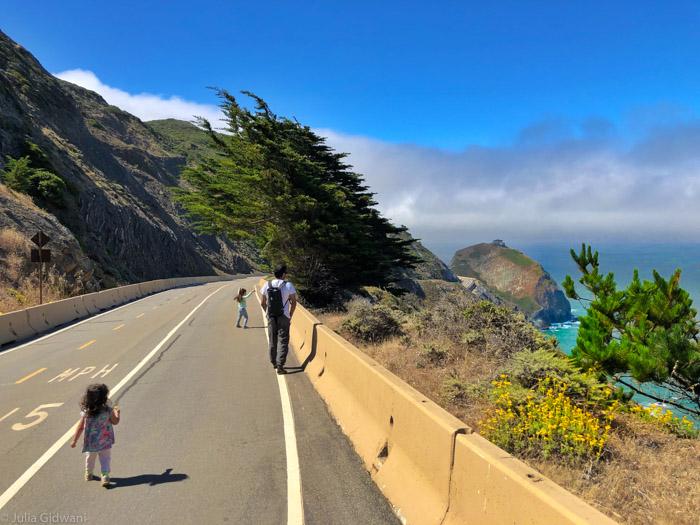 Devil's Slide Trail in Pacifica