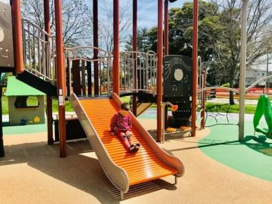 San Pablo Park Tot Slide