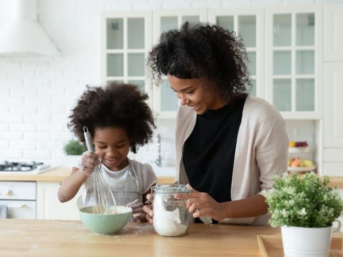 Parent child cooking