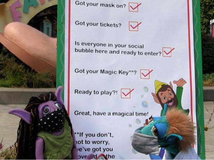 covid checklist for fun