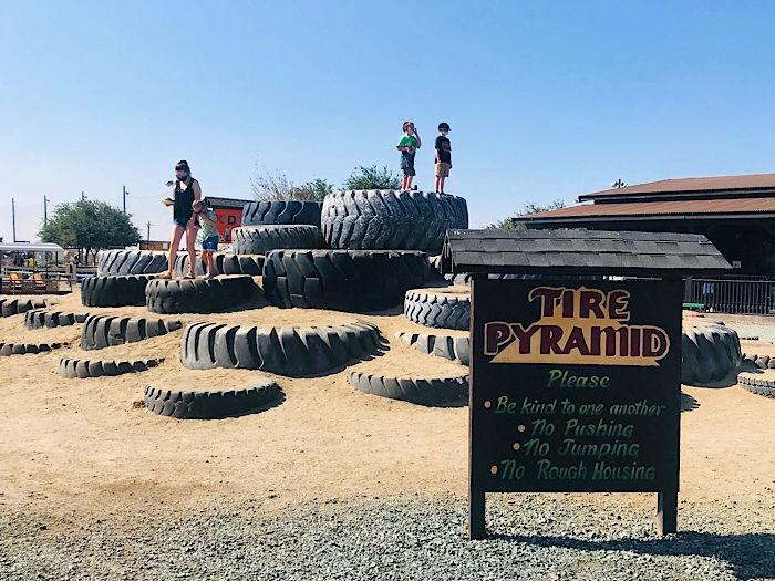 Dell'Osso Family Farm tires