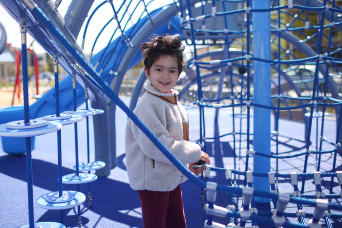 Neighborhood Park climber