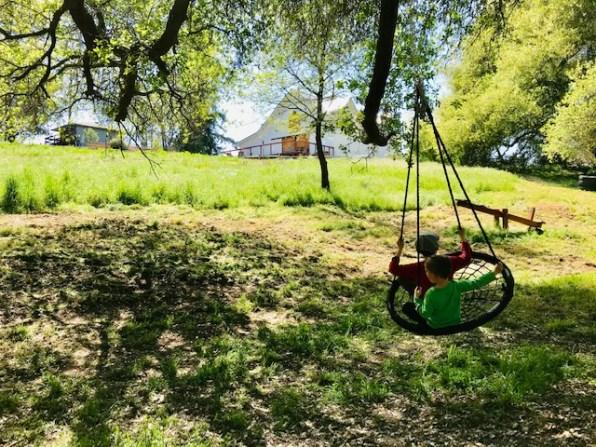 Heirloom Acres Farm Swing