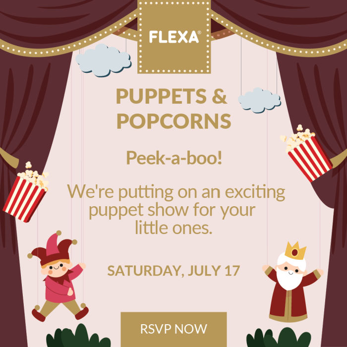 puppet show for children on saturday july 17