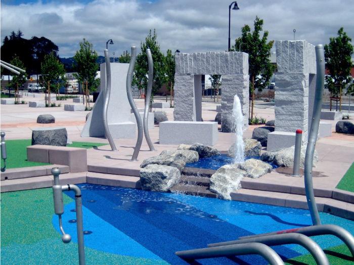 Cannery Park Splash Pad