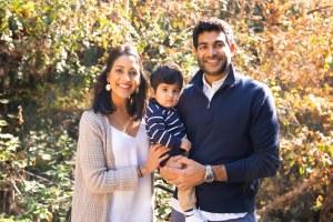 Family Photo in Piedmont Park