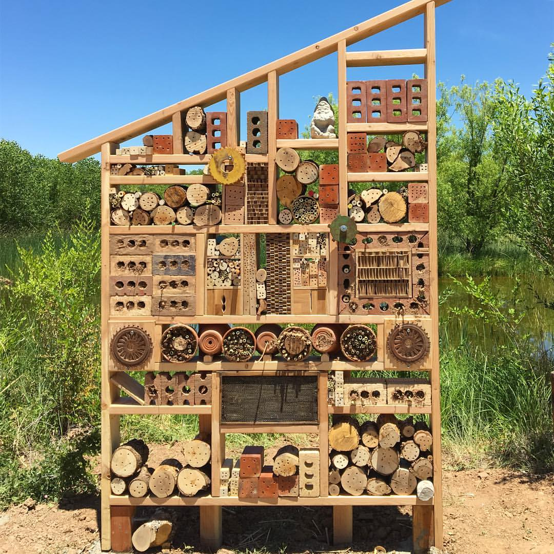 Image result for bee hotel