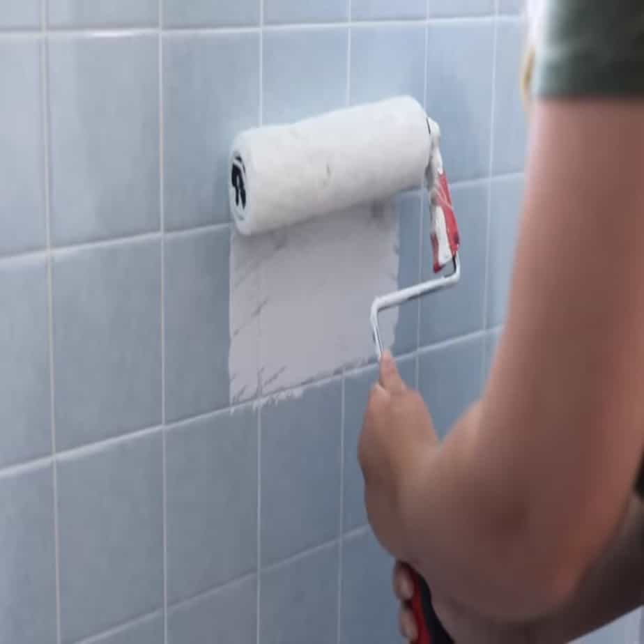 how to paint over tile best results