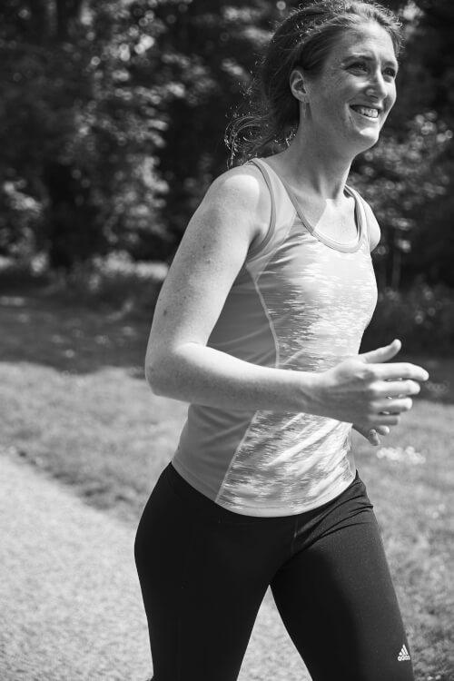 Halve marathon training
