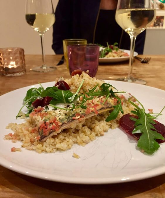 Gezond En Lekker Dineren: Forel Uit De Oven