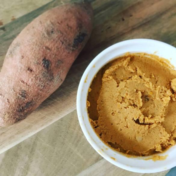 Zoete Aardappel Hummus