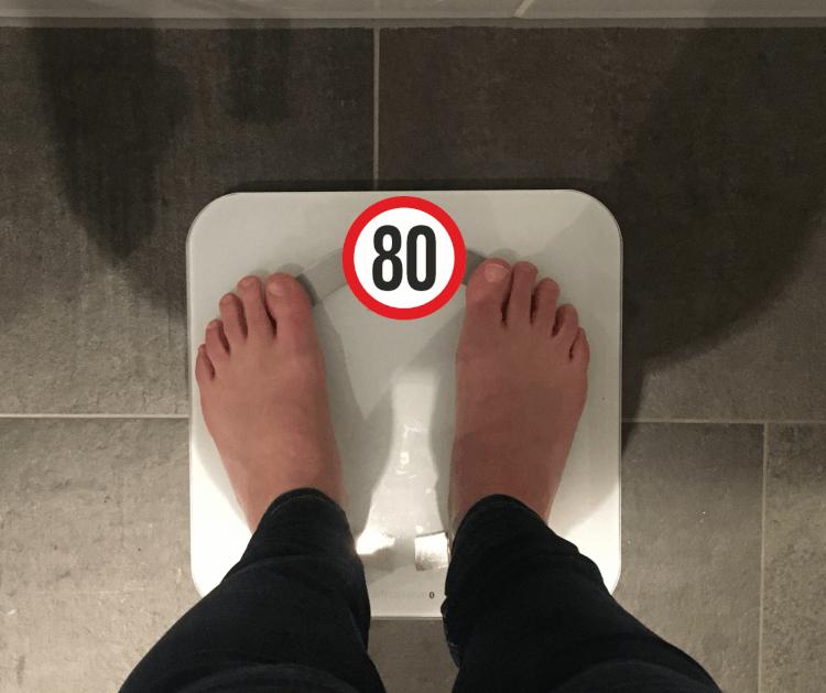Eindelijk Onder De 80 Kilo!