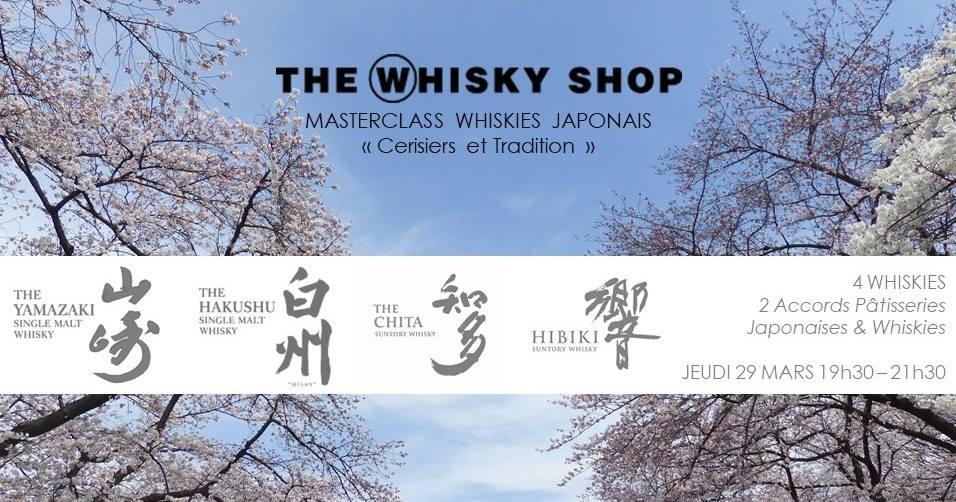 Masterclass Whisky Japonais Cerisiers & Tradition