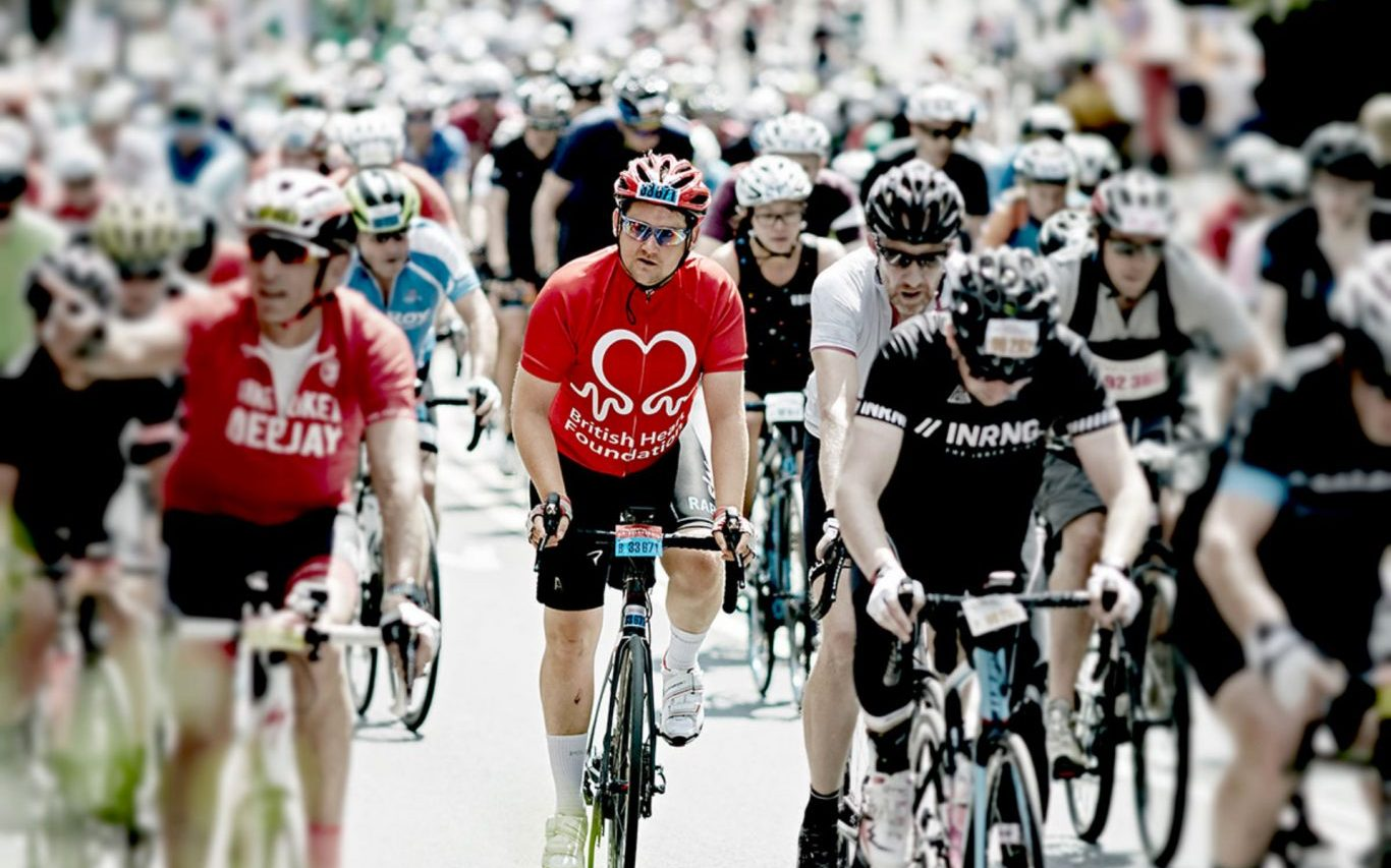 British Heart Foundation Charity Bike Ride