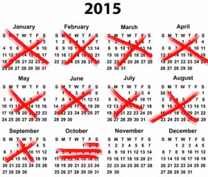 Year end timelines