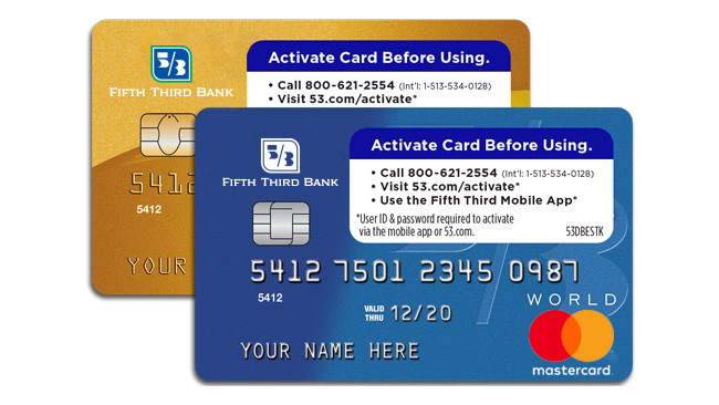 activate card fifth third