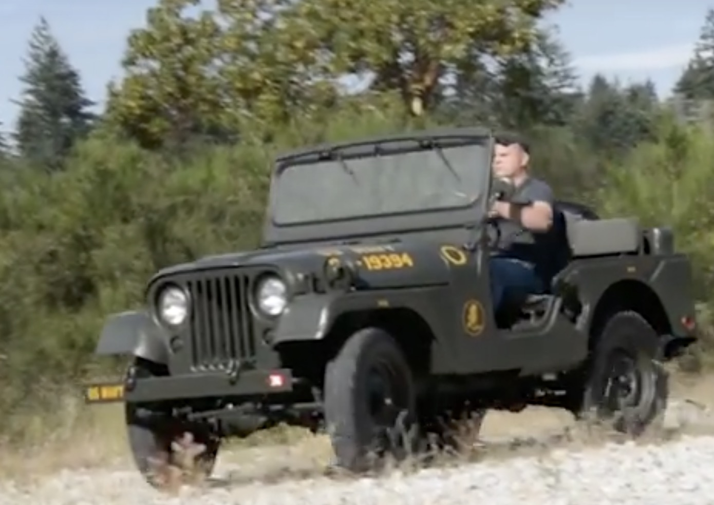 hight resolution of this is our debut walk around viewing of our frame off restoration project it is a 1953 m38a1navy seabees jeep from the nmcb 74