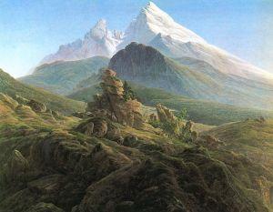 """""""Der Watzmann"""" von Caspar David Friedrich (1824/25)"""