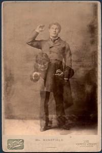 Richard Mansfield in der berühmten Doppelrolle, 1887