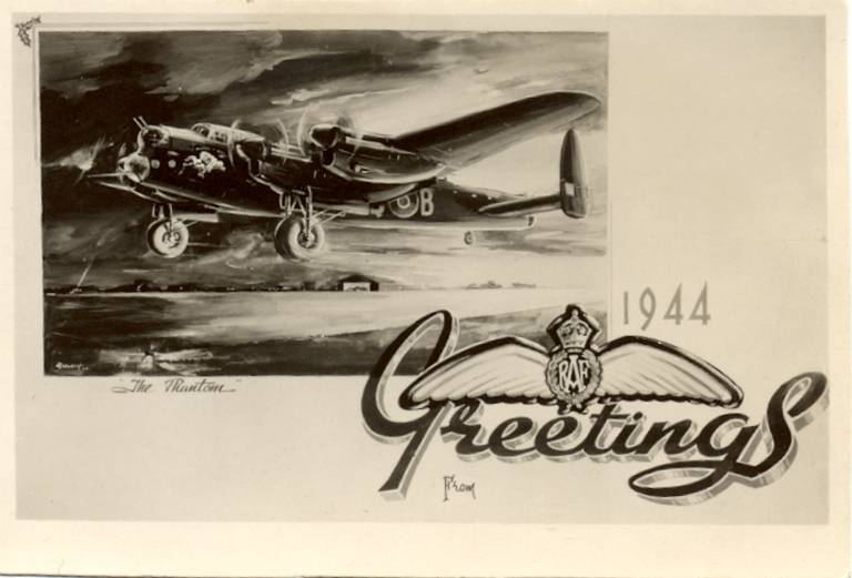 Vintage Aviation Christmas Cards