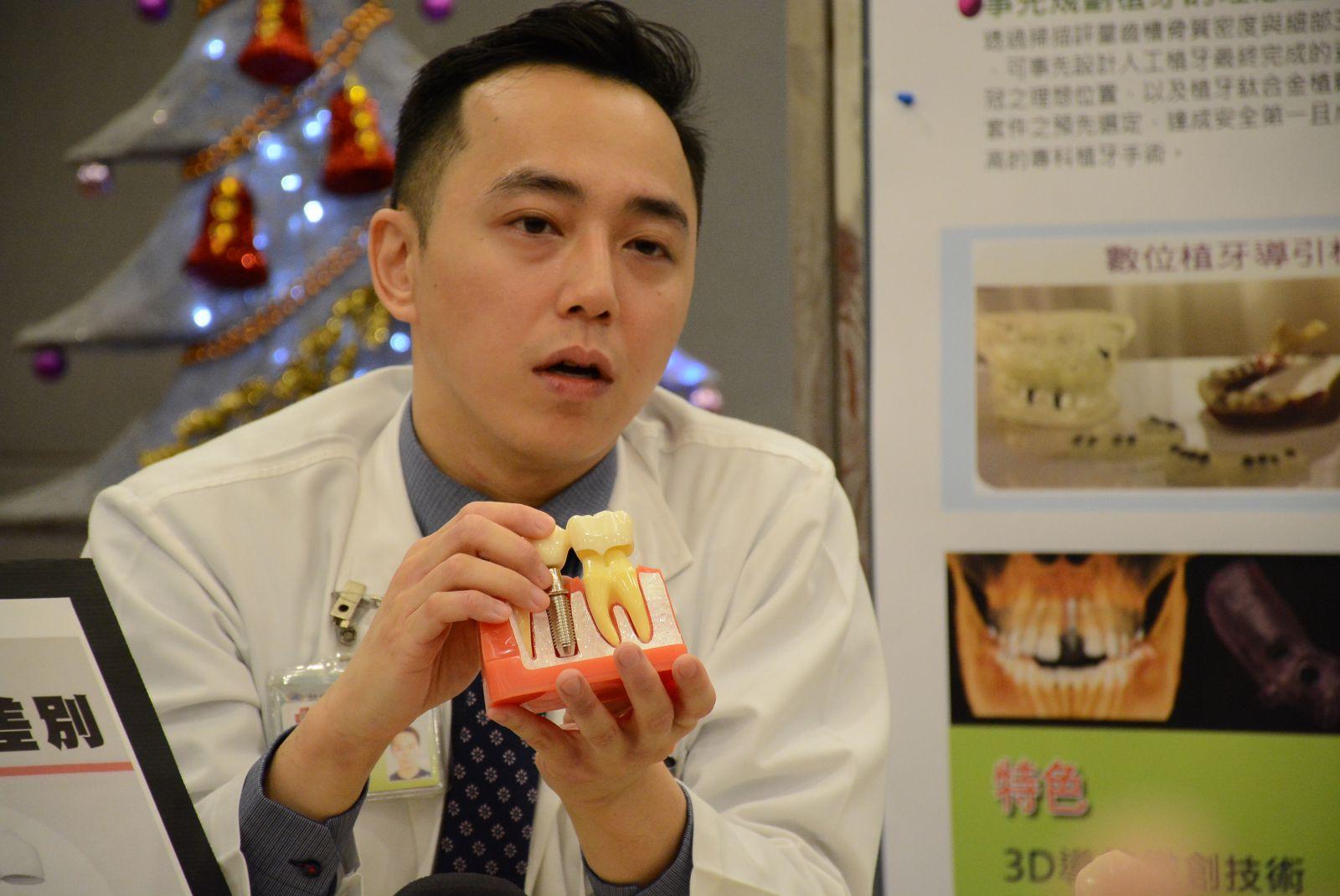 上圖:臺東馬偕分院口腔顎面外科張哲綸醫師