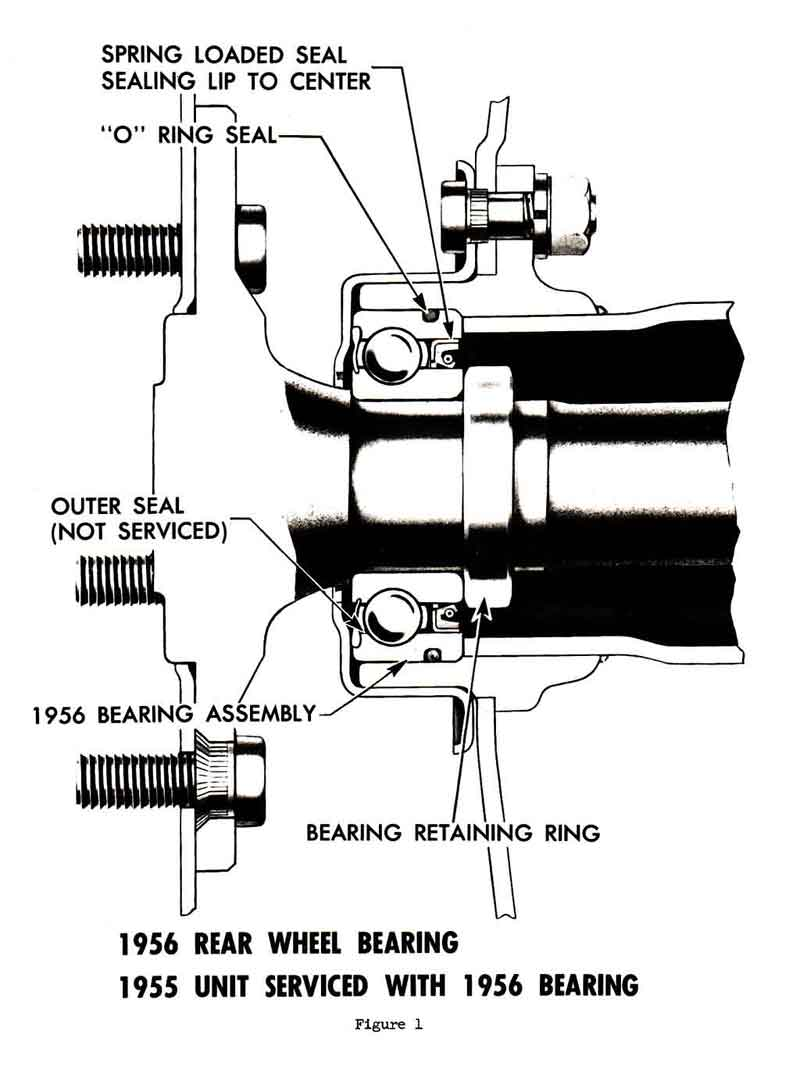 hight resolution of 1955 rear axle bearing o ring direction trifive com 1955 chevy chevy truck rear axle diagram