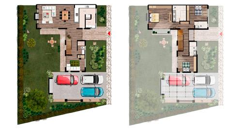 Diseño arquitectónico - planos de ventas