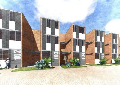 manzana 52 Casas Progresivas