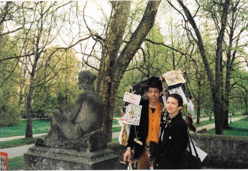 Exposition à Baden Baden, Suisse Marocain et inconnue 1999