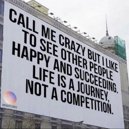 Call me crazy but