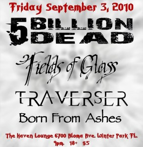 5 Billion Dead at the Haven Lounge Winter Park Florida