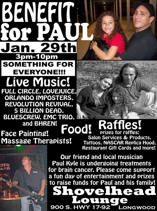 image link to paul kyle benefit show at shovelhead lounge longwood